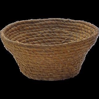Rye Coiled Basket