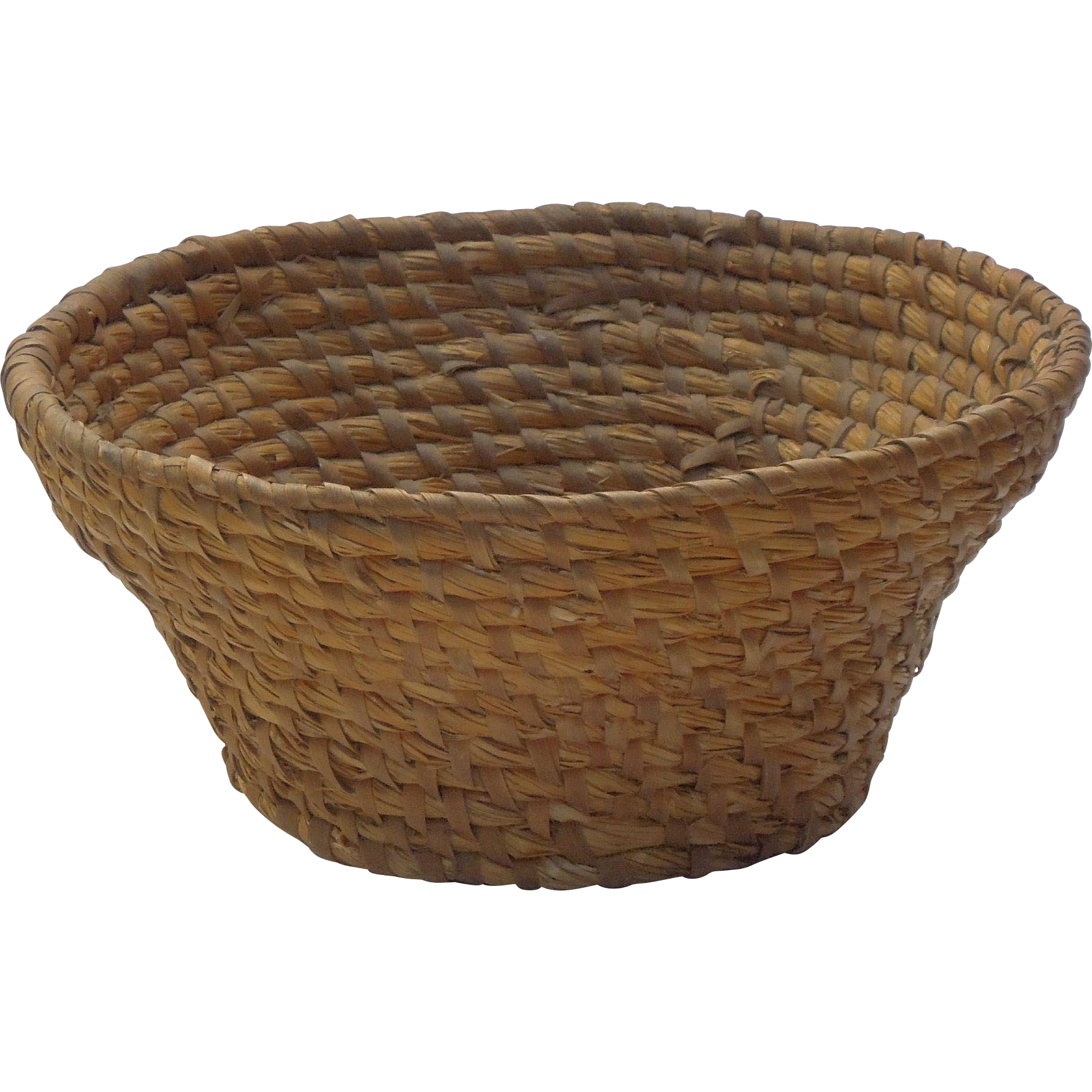 RESERVED - Rye Coiled Basket