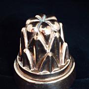 Small English Copper Mould, Mold