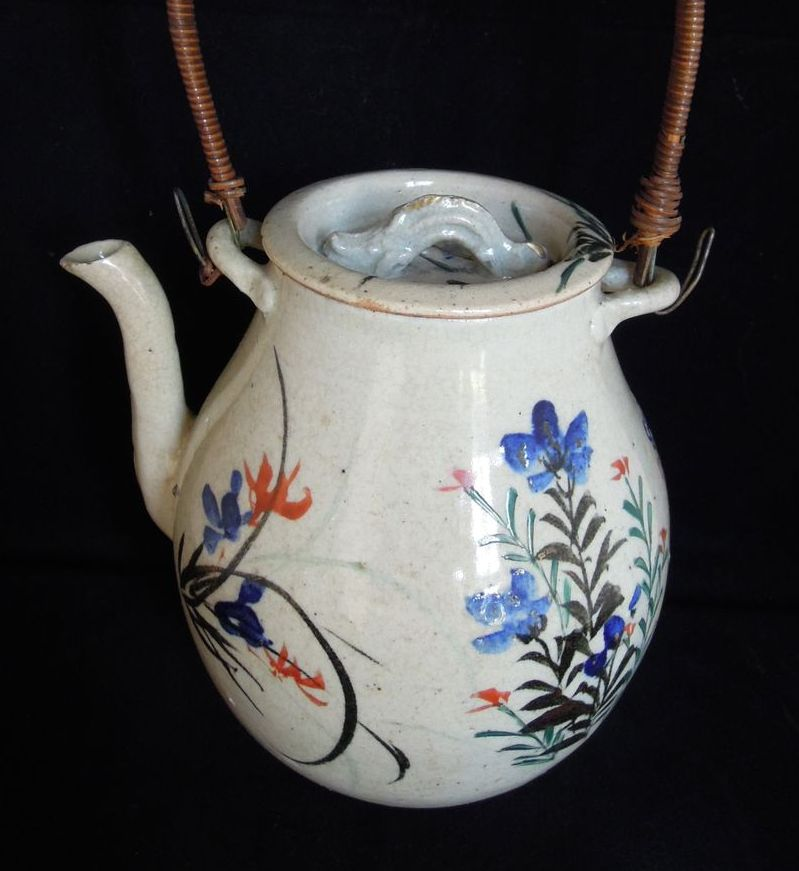 A Wonderful Antique Japanese Tea Pot