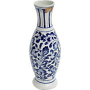 Blue & White Delft Vase