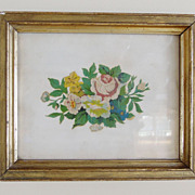 Botanical in Gilt Frame
