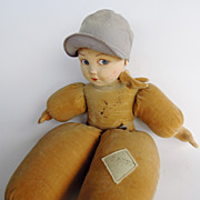 English Norah Wellings Dutch Boy Novelty Doll, Nautical