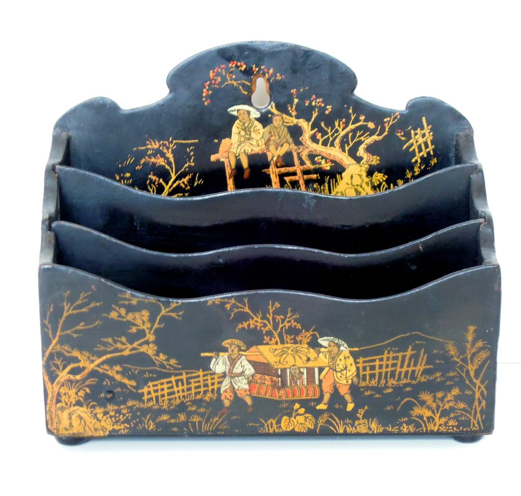 Chinoiserie Letter Holder