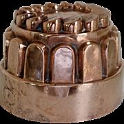 Antique English Copper Benham Mold