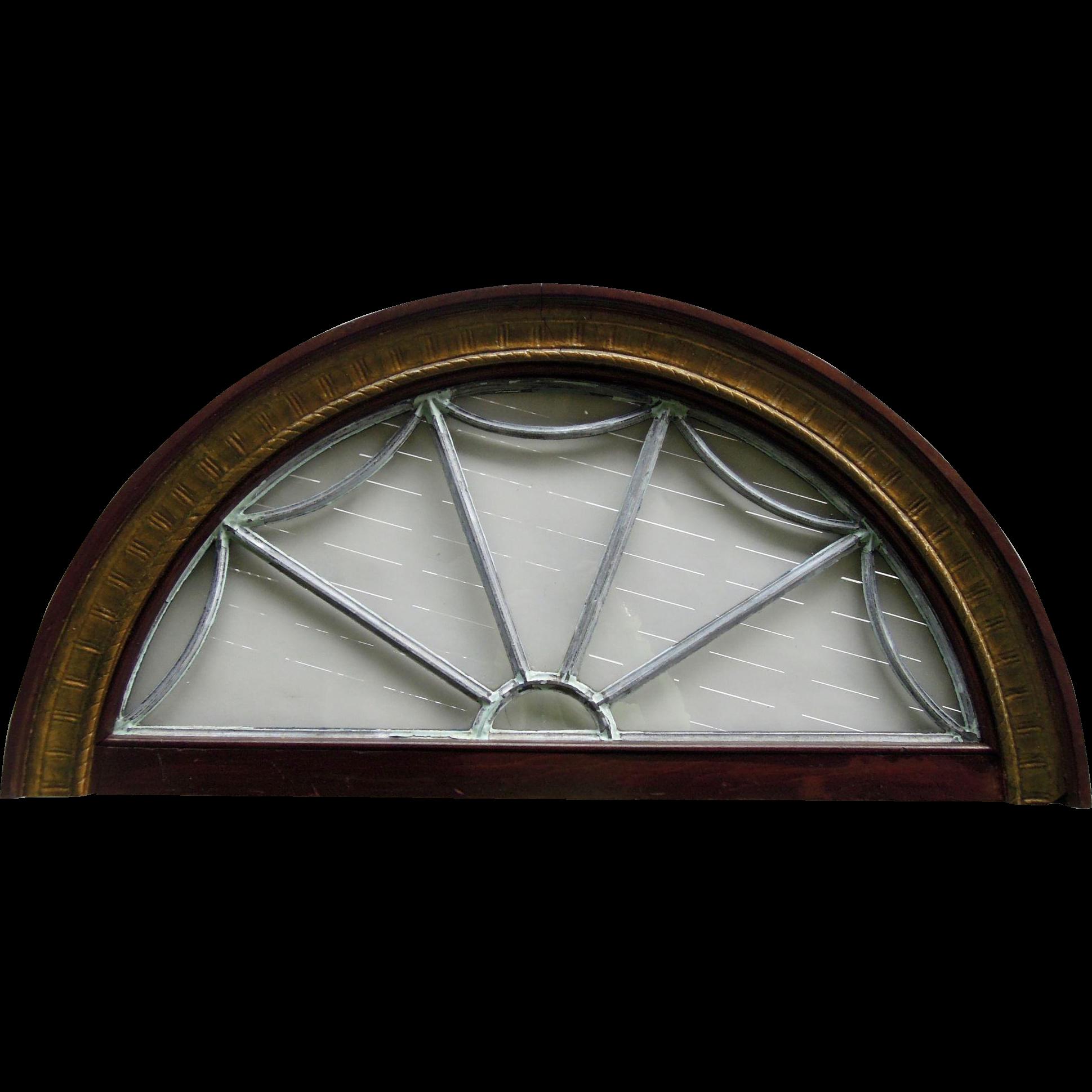 Antique Transom Window
