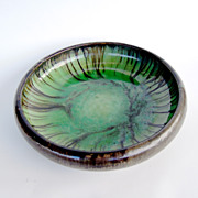 Fulper Matt Glazed Bowl, Art Nouveau