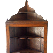Antique Welsh Corner Cupboard