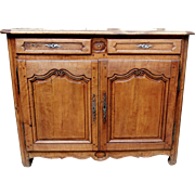 19th Century French Pearwood Buffet