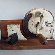 Rare Vintage German Dienes Pe De No. 17 Tabletop Meat and/or Cheese Rotary Display, Kitchenalia