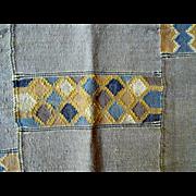 Vintage Handwoven Kilim Wool Rug