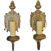 Decorative Silver Plated Sconces