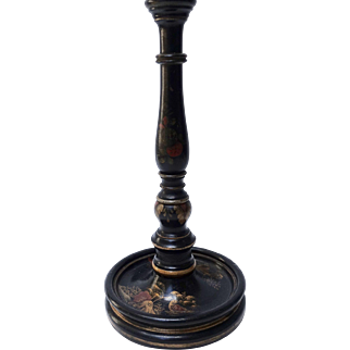 Vintage English Chinoiserie Table Lamp