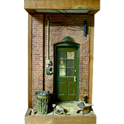 Got Cat, August 1975, Michael Garmin Diorama