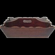 Antique English Mahogany Cutlery Tray