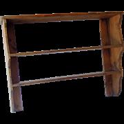 Antique English Pine Shelf