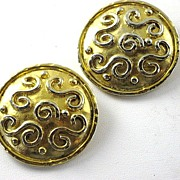 Vintage Edouard Rambaud Designer Earrings Paris