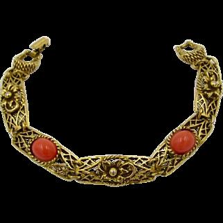 Vintage Goldette New York Link Bracelet