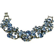 Juliana D&E Blue Rhinestone Crystal Bracelet