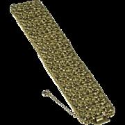 Vintage Napier Wide Filigree Bracelet