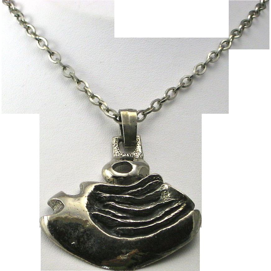 vintage robert larin mid century modernist pendant