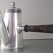 Joseph Heinrichs Silver Soldered Chocolate Pot