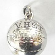 1939 HS Basketball Championship Award Sterling Charm