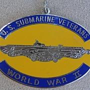 WW II Submarine Medal, 1940s