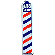 Original Vintage Barber Shop Sign, circa 1940