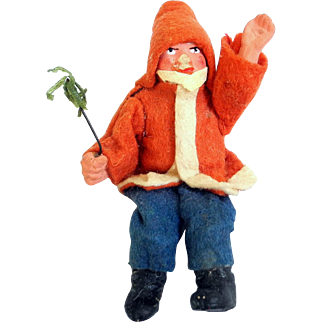 Early German Belsnickle Santa