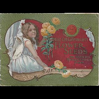 Miss C. H. Lippincott Flower Seeds Catalogue 1900