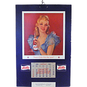 1941 Pepsi-Cola Calendar by Pin-up artist, Jules Erbit
