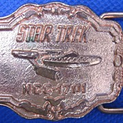 Star Trek Starship Enterprise Belt Buckle, 1976