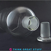 Pyrex Bottle w/ #29 Stopper, Vase Decor