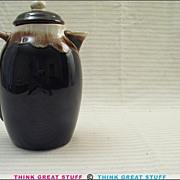Pfaltzgraff 303 Brown Drip Coffee Server w/Lid
