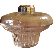 Civil War Era Pear Shaped Oil Lamp Font for Bracket Lamp