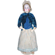 "HUGE 35"" RARE Exhibition French Fashion Doll - ALL ORIGINAL - Layaway"