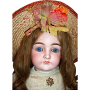 "23"" Closed Mouth Pouty Kestner Antique Doll - Layaway!"