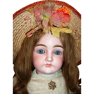 """23"""" Closed Mouth Pouty Kestner Antique Doll - Layaway!"""
