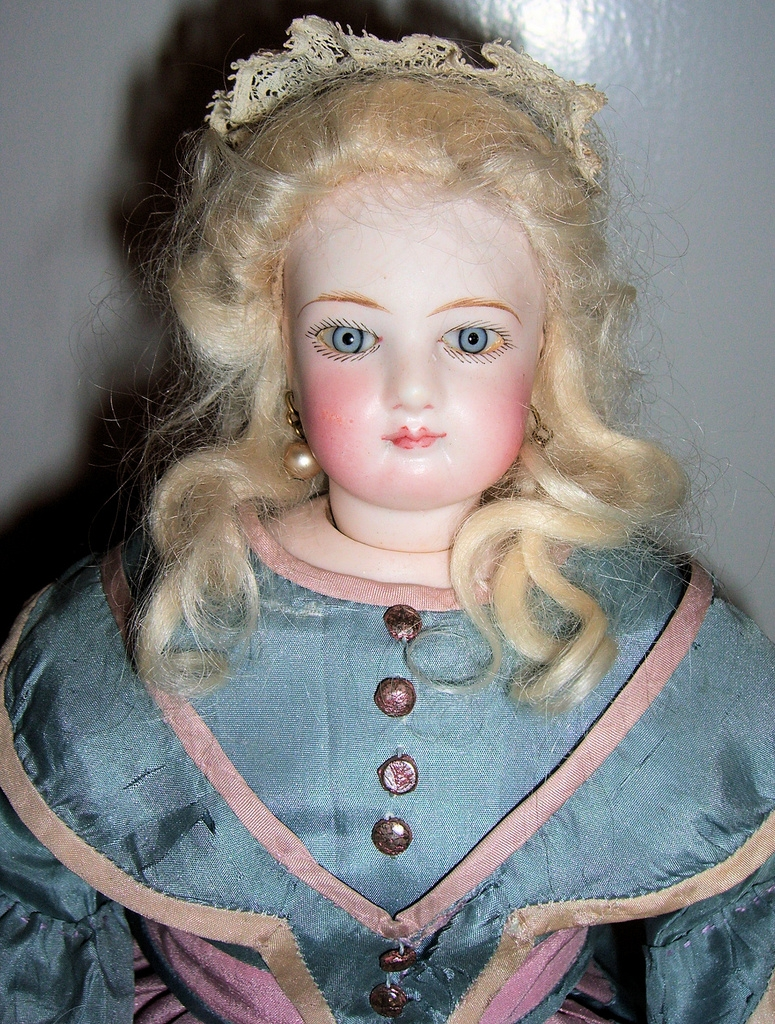 Beautiful Antique French Fashion Doll - Jumeau - Layaway