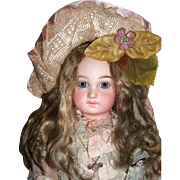 "15"" Premiere Bebe Antique Doll by Jumeau - Spiral Threaded Eyes - Layaway"