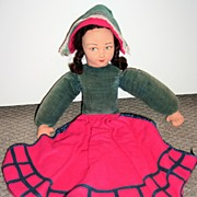 All Original Tagged Norah Wellings Case Boudoir Doll 1940