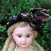 "BARGAIN!! Closed Mouth Antique Tete Jumeau Doll 25""w/Corset! LAYAWAY"