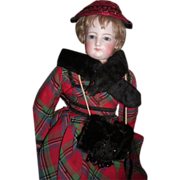 "ALL ORIGINAL 18"" French Fashion Antique Doll - Layaway"
