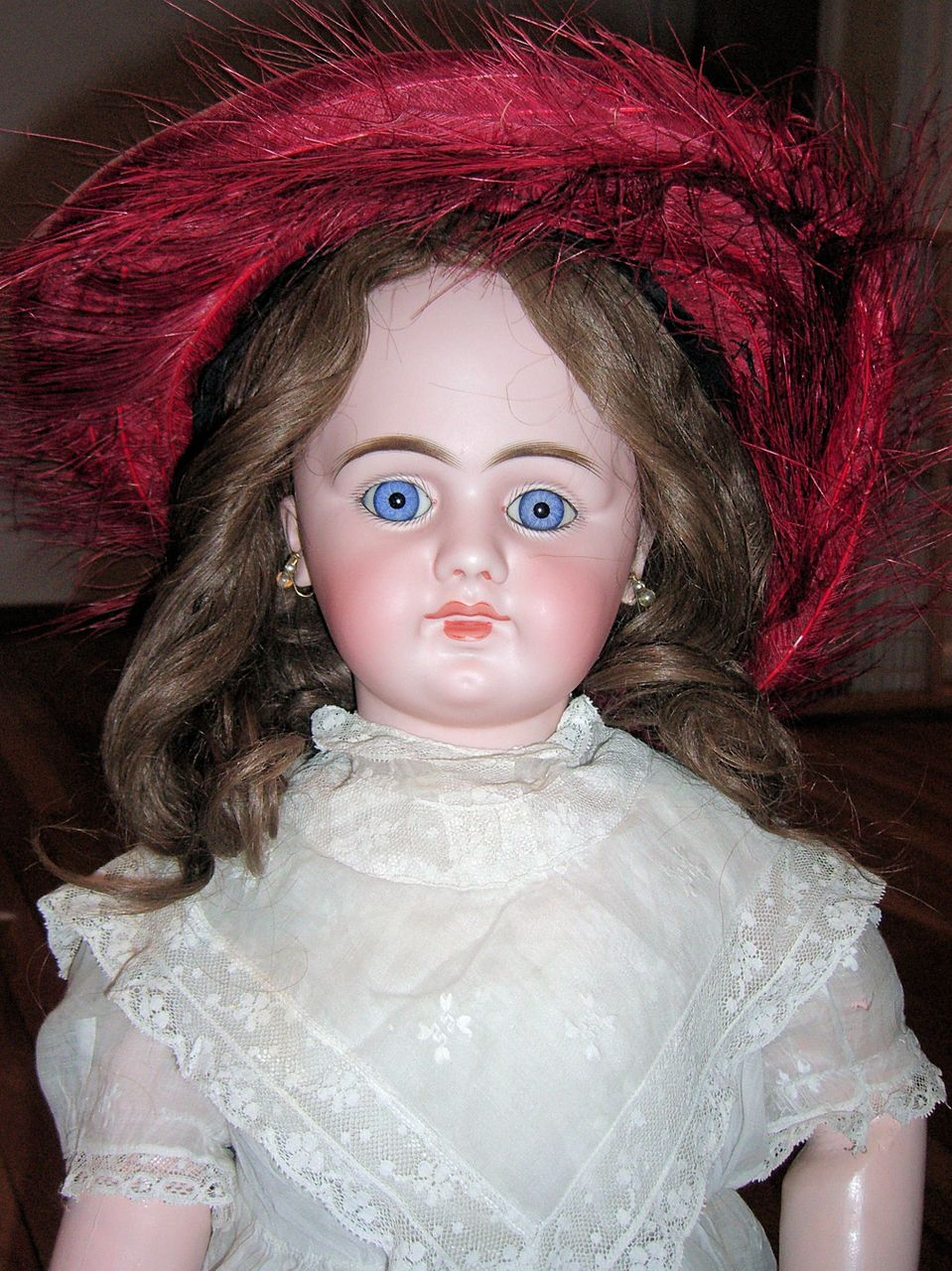 "BEAUTIFUL 29"" DEP Antique Doll - Layaway"