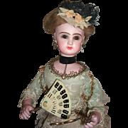 Wonderful Leopold Lambert French Antique Automaton - Jumeau head with Lorgnette Circa 1885 - Layaway