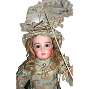 "Stunning 19"" AT Antique Doll by Thuiller Circa 1886 - Layaway!"