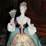 "Stunning French Figurine by Achille Bloch 8 1/2"" Tall"