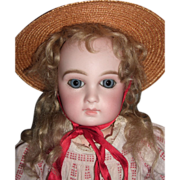 "Early 16"" Jumeau Antique Doll - Premiere  Circa 1878 - 8 Loose Ball Body - LAYAWAY"