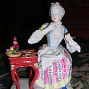 Meissen Figurine Sense of Taste - First Quality - Layaway!